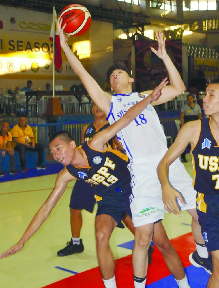 DARK-HORSE. After making the finals in the Partners Cup, the University of Southern Philippines Foundation could play a major spoiler in the high school division, which has been dominated by UV and SHS-Ateneo de Cebu. (SunStar file)