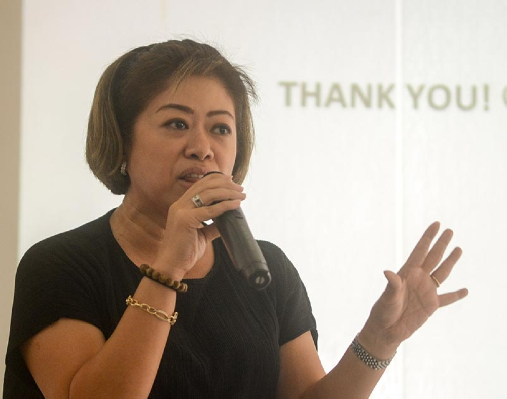 SAFETY. Princess Galura of Sunrise Events said they will have 1,000 marshalls for Sunday's race and is hoping the public will cooperate to ensure the safety of the participants. (SunStar photo / Arni Aclao)