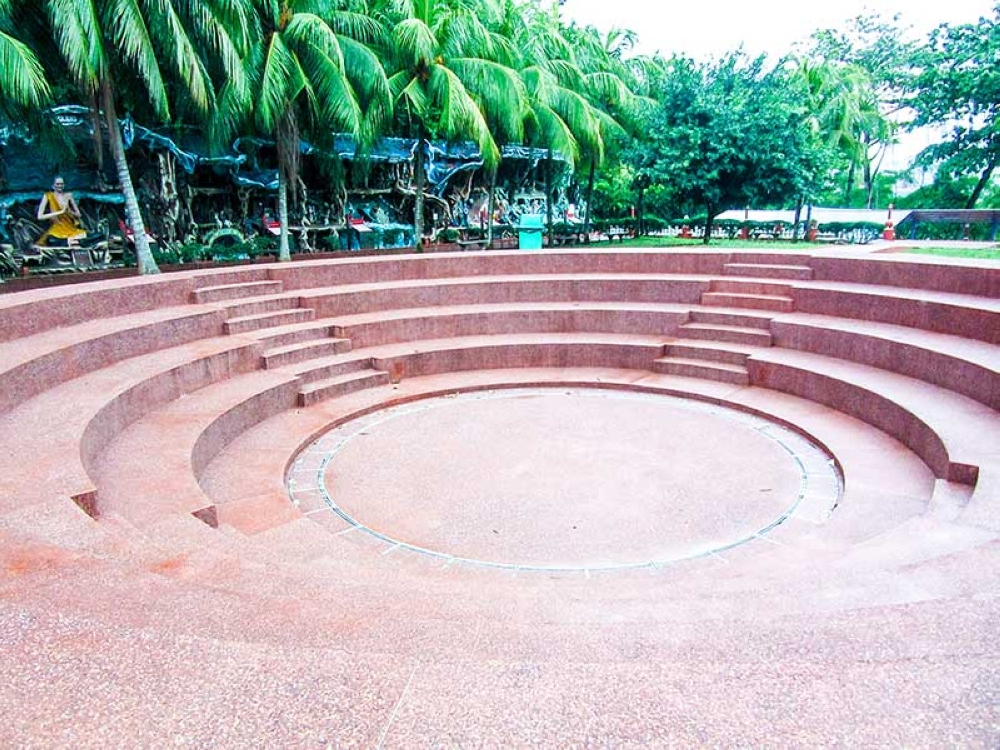 BACOLOD. The site of the former Villa is now a mini-amphitheater. (Claire Marie Algarme)