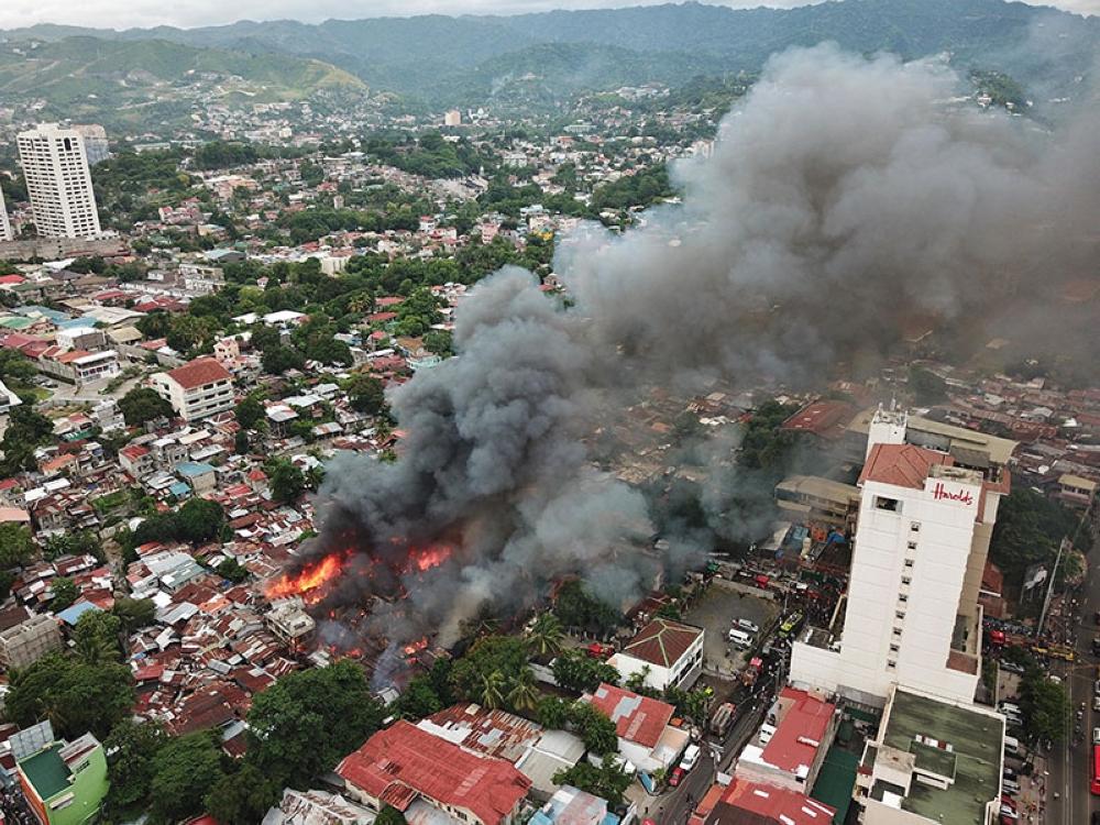AERIAL PHOTOS: Kamputhaw fire - SUNSTAR