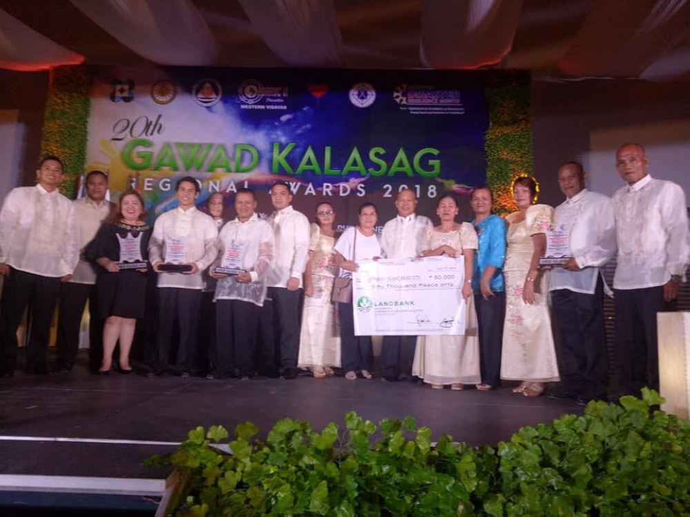 The Regional Gawad Kalasag winners from Bago City (Contributed Photo)