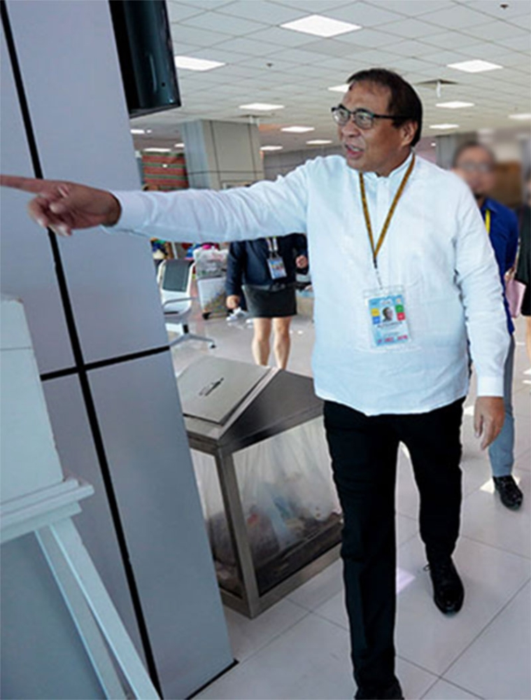 Clark International Airport Corporation president and CEO Alexander Cauguiran (File Photo)