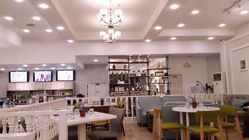 "CAGAYAN DE ORO. Espressini Café, established in July 2017, is tagged as the ""most instagrammable cafe"" in Cagayan de Oro City due to its beautiful interior design which was created by the ideas of café owner Anna Rochelle Uy. (Jo Ann Sablad)"