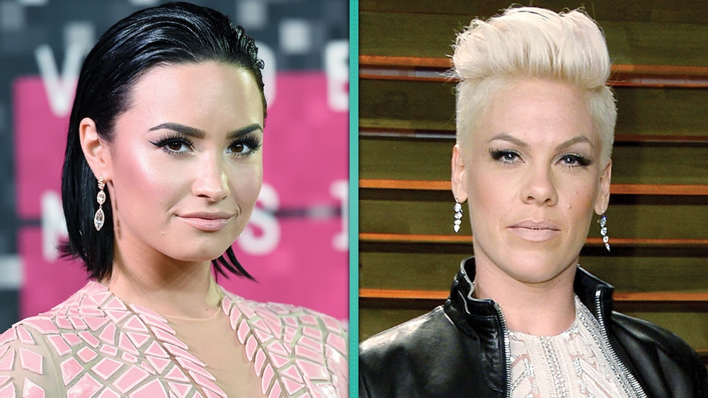 Demi Lovato and Pink (Foto/Entertainment Tonight)