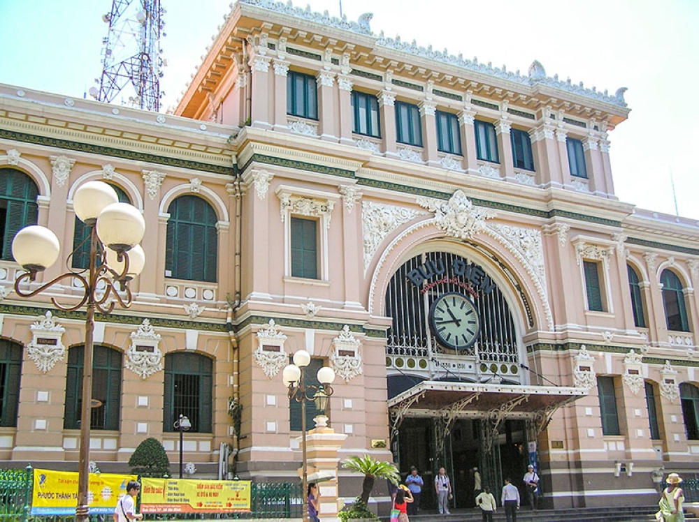 The Saigon Central Post Office is now a tourist attraction as well (Claire Marie Algarme)