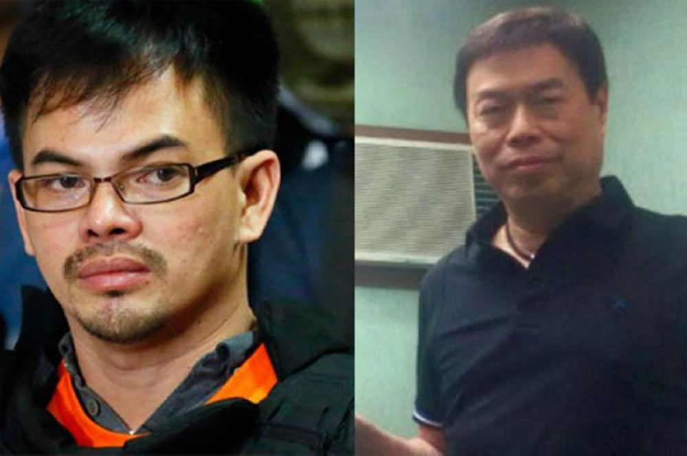 MANILA.. Cebuano businessman Peter Lim (right) has been indicted for conspiracy with Kerwin Espinosa (left) to commit illegal drug trading. (File Photo)