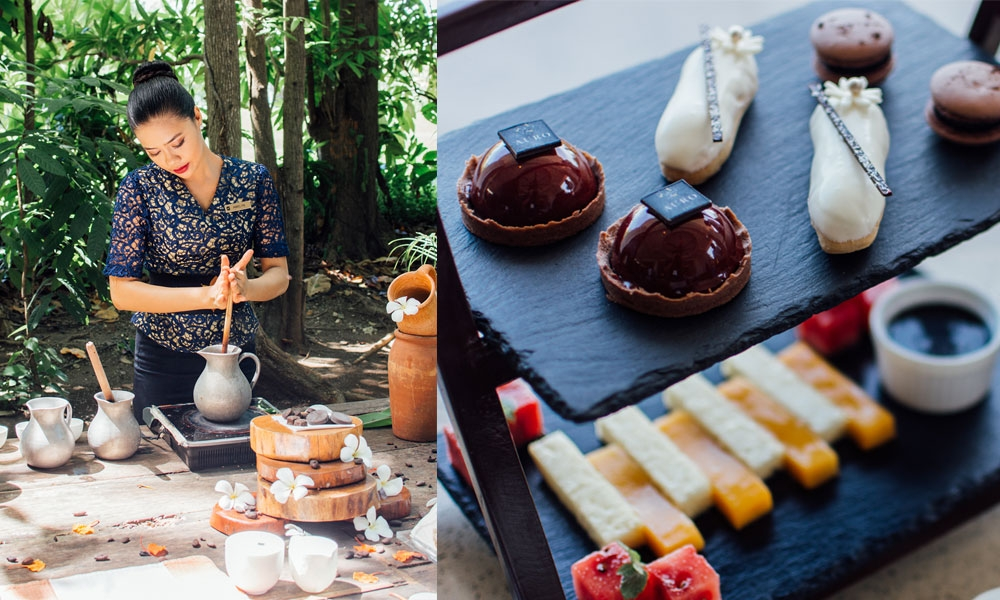 Sikwate making. Chocolate High Tea (Contributed Fotos)