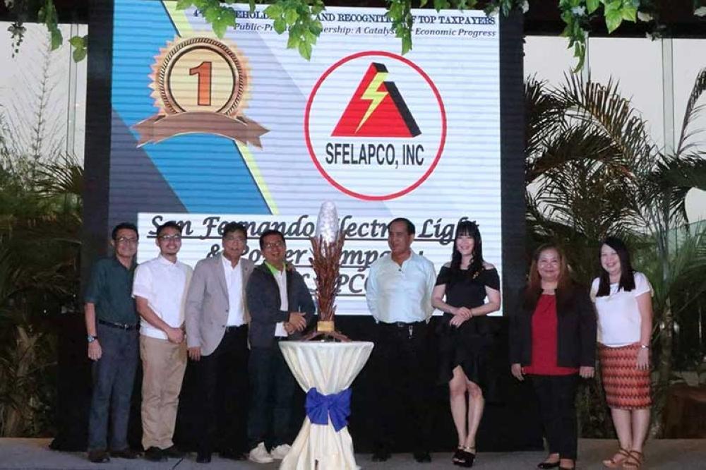 City of San Fernando fetes top taxpayers - SUNSTAR