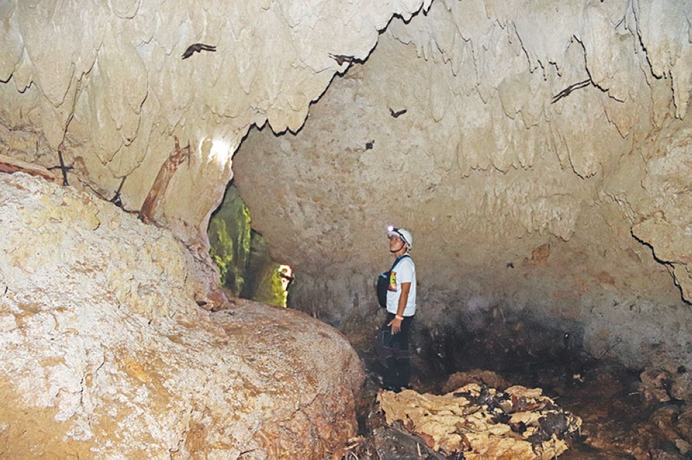 COMPOSTELA VALLEY. The local government of Laak, Compostela Valley is banking on the potentials of its caves in a bid to boost local tourism in the municipality. (Photo by Juliet C. Revita)