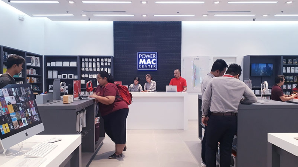 CAGAYAN DE ORO. A look inside the Power Mac Center branch located at the third level Cyberzone of SM Downtown Premier, Cagayan de Oro City. (Jo Ann Sablad)