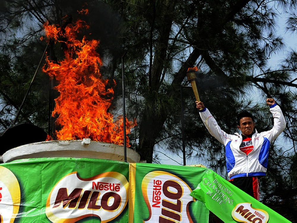IGNITING THE FLAME. Top schools in Cebu are aiming for the title in the Milo Little Olympics regionals set on Aug. 30. (SunStar file)