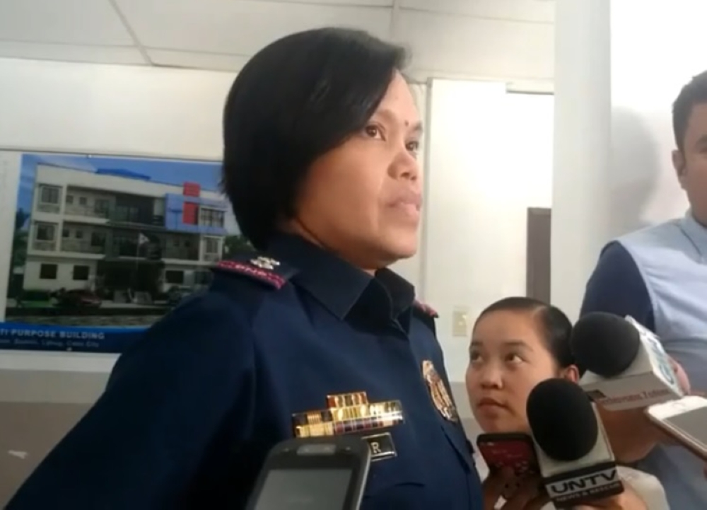 CEBU. The interview with Superintendent Janette Rafter of Cebu Provincial Police Office on Wednesday, August 15, tackling the travel advisory issued by United Kingdom. (Screen captured from SunStar Cebu's Facebook Live)