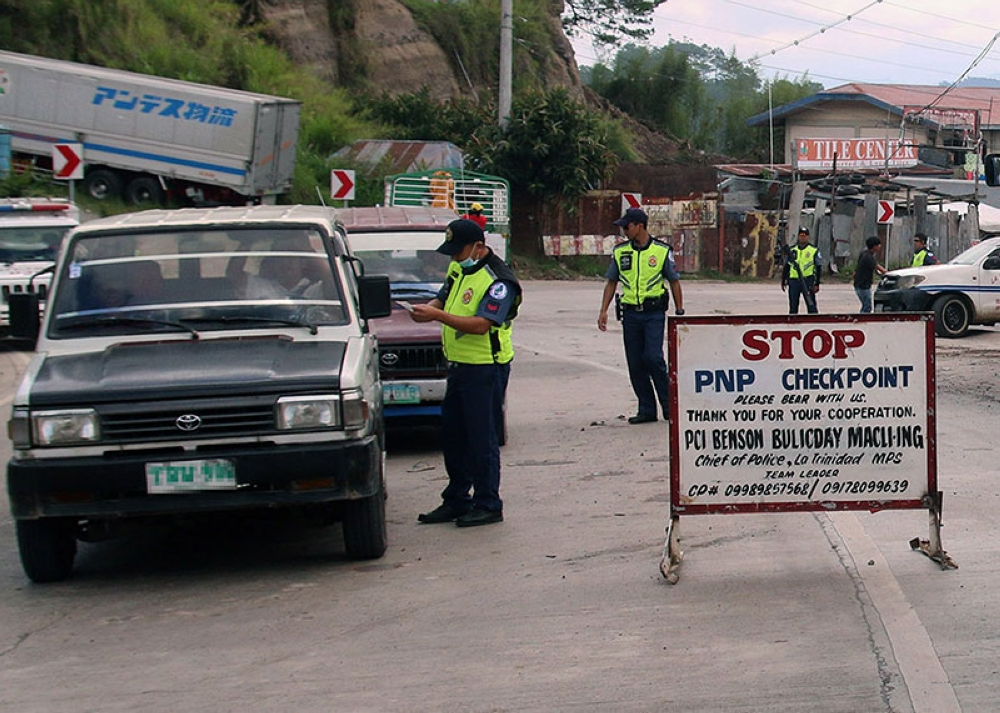 BAGUIO. Police visibility will be the focus of the La Trinidad Municipal Council as it hopes to institutionalize anti-criminality programs, projects and activities (PPAs) in the municipality. (SSB photo)