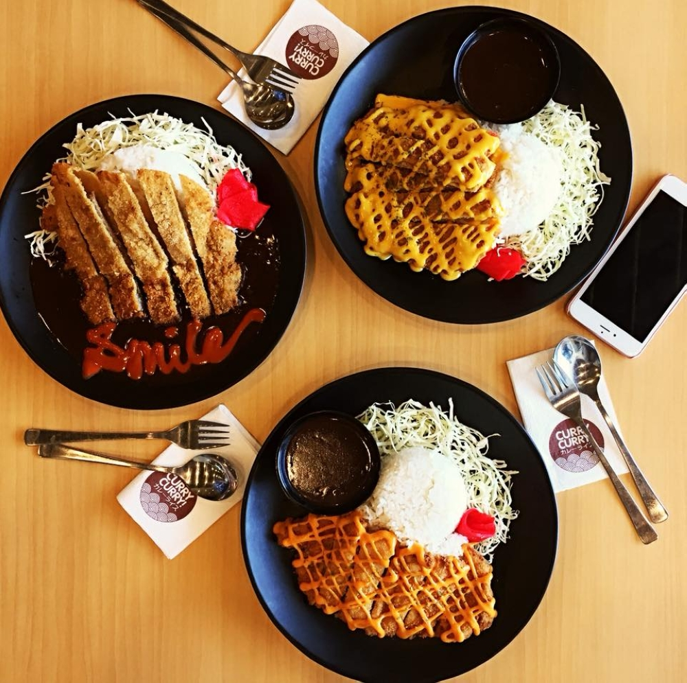 CAGAYAN DE ORO. Curry Curry's deep fried katsu dishes. (Photo from Curry Curry Facebook page)