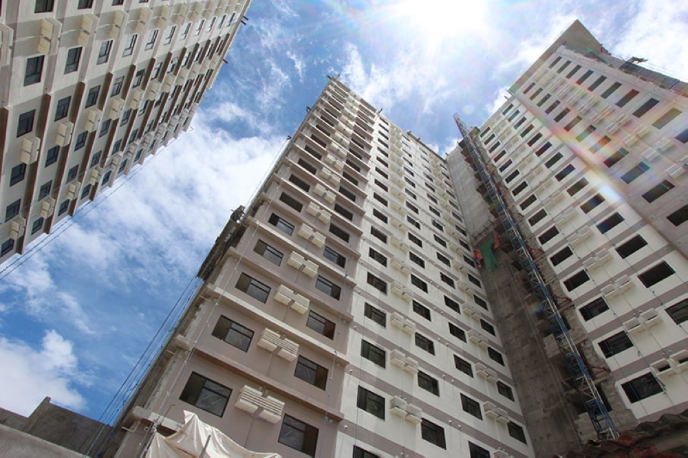 CASA MIRA TOWERS LABANGON. The economic condominium project with 686 units was a primary contributor to the company's first-half sales. It is scheduled for turnover by the second half of 2018. (Contributed photo)