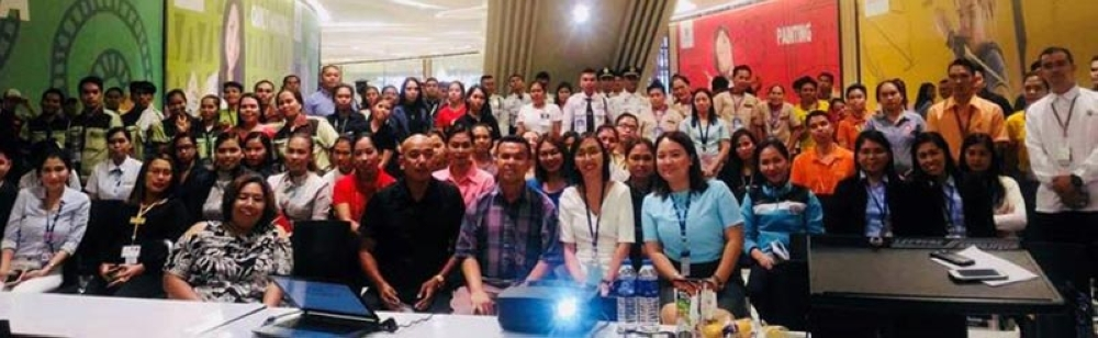 SEMINAR. Participants of the SM-led seminar pose for a group photo after their activity..(Contributed photo)