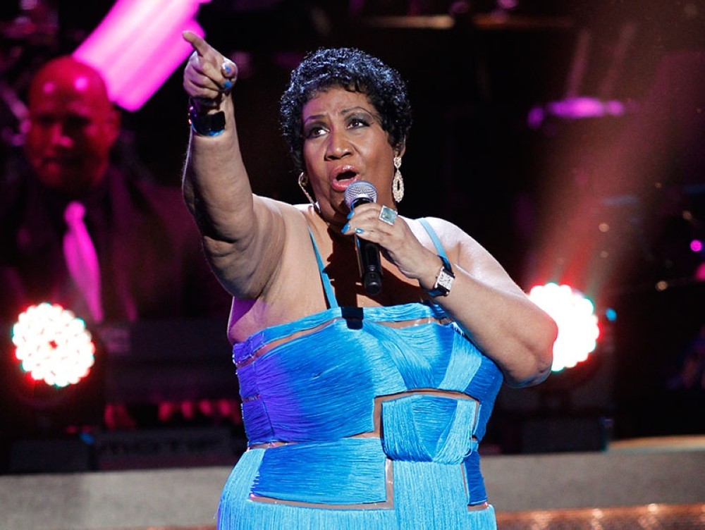 WASHINGTON. This Jan. 14, 2012 file photo, shows singer Aretha Franklin performing during the BET Honors at the Warner Theatre in Washington. Franklin died Thursday, Aug. 16, 2018 at her home in Detroit. She was 76. (AP File)