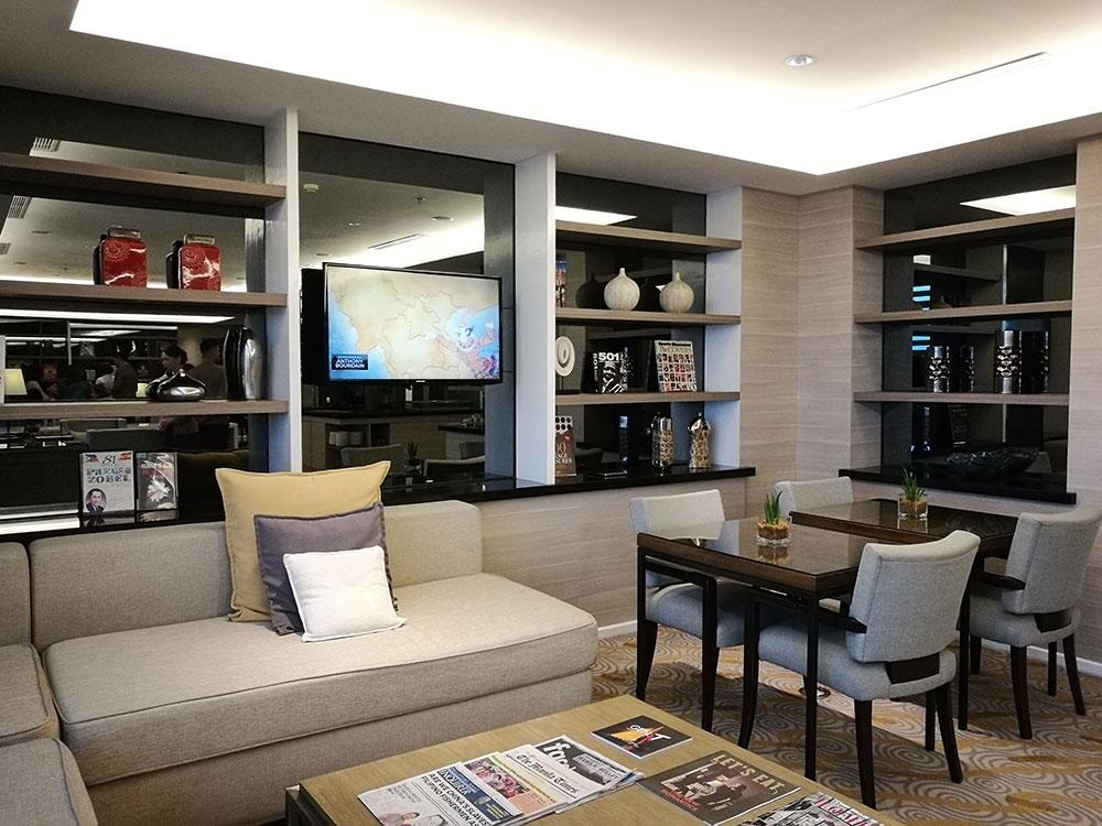 Executive lounge at Seda Hotel BGC