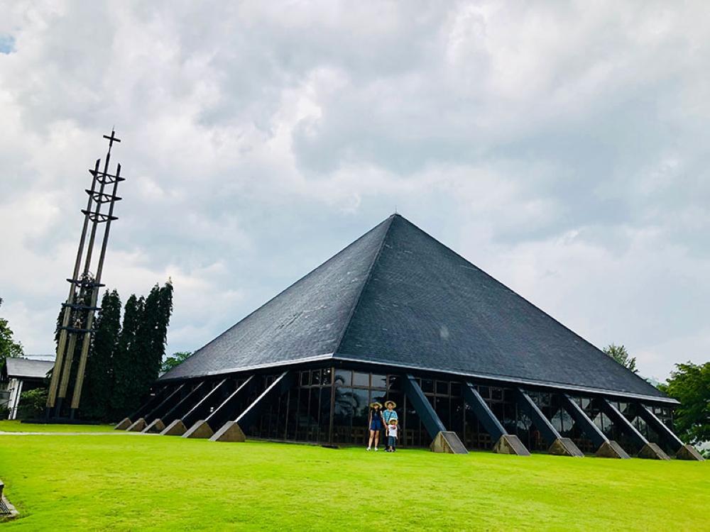 BUKIDNON. The Transfiguration Monastery at Malaybalay. (Hannah Victoria Wabe)