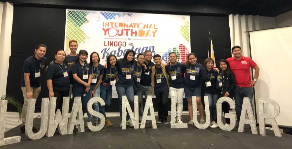 YOUTH  SPEAK. Some 250 young leaders join the International Youth Day event organized by the National Youth Commission in Cebu City last Aug. 12. Their topic? Giving the youth safe spaces so they can be productive citizens. (Contributed fotos)