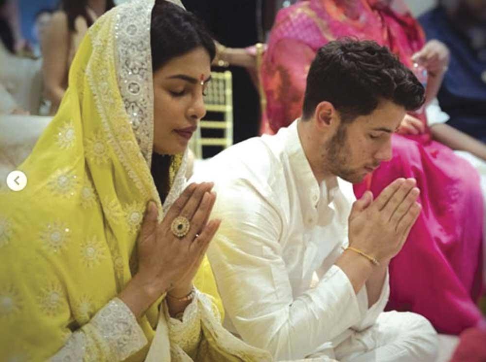 (Priyanka Chopra & Nick Jonas / PRIYANKACHOPRA INSTAGRAM)