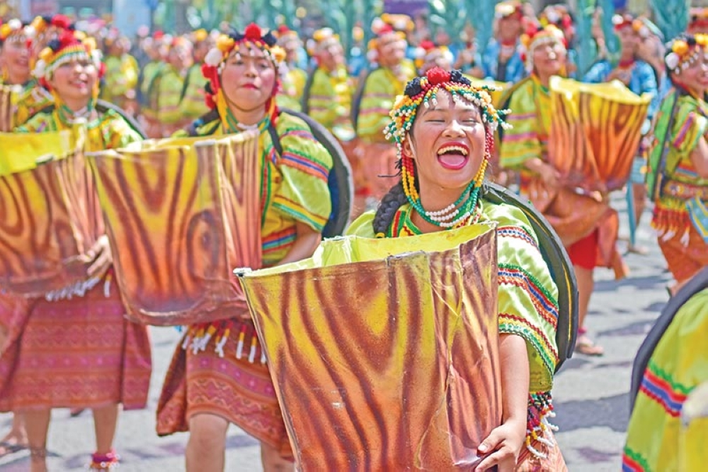 FESTIVE. The 33rd Kadayawan Festival this year can be described as festive, colorful, and made a lot of people smile.