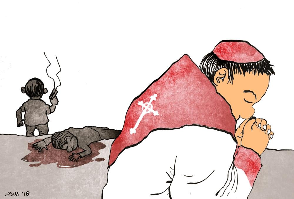 (Editorial Cartoon by Joshua Cabrera)