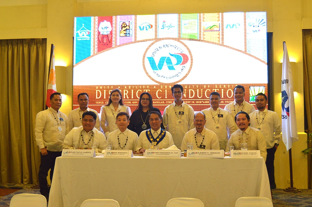 UAP District C-1 architects take pledge to shared progress - SUNSTAR
