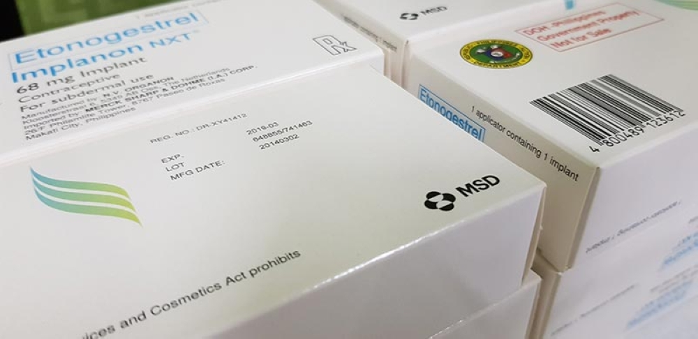 CAGAYAN DE ORO. The packaging of Implanon NXT which indicates the exclusive use and distribution for DoH. (Nef Luczon)