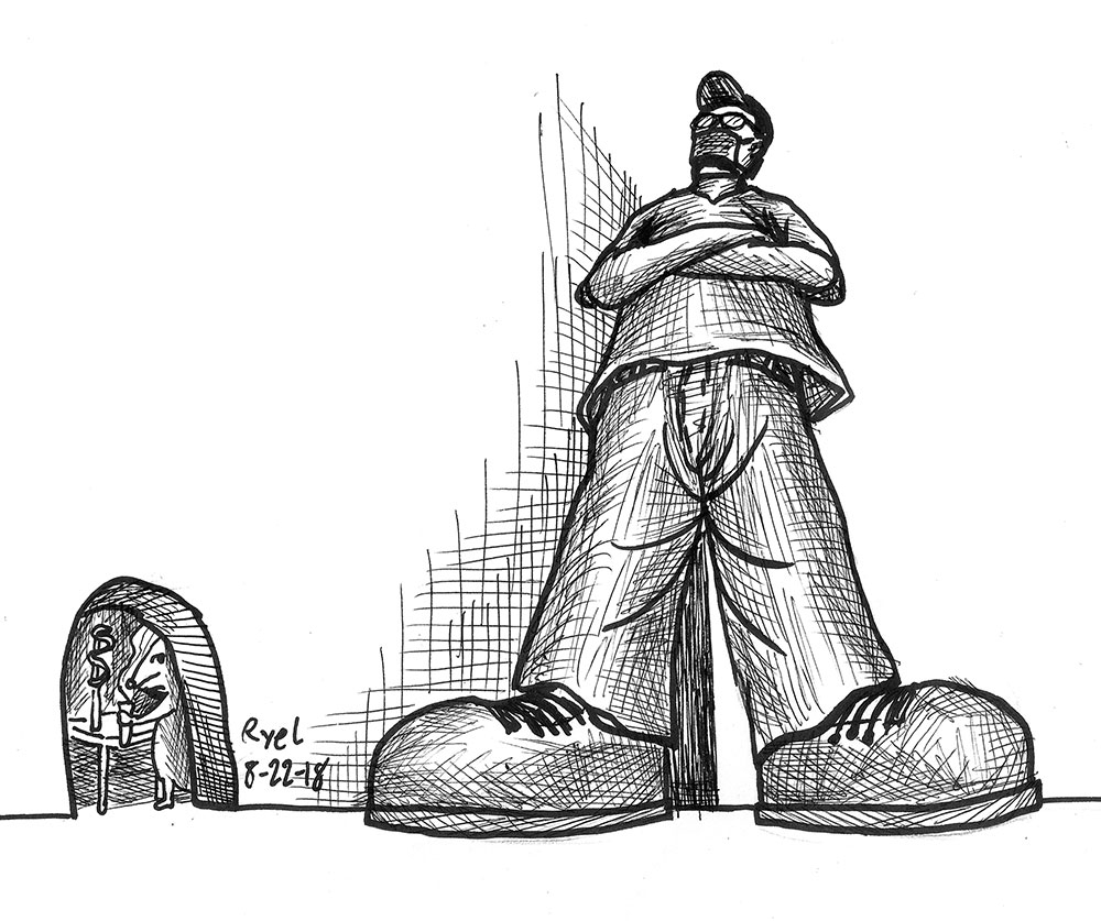 Editorial Cartoon Ariel Itumay