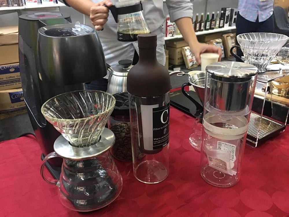 Hiroia, a Japanese coffee maker company. (Gilford A. Doquila)