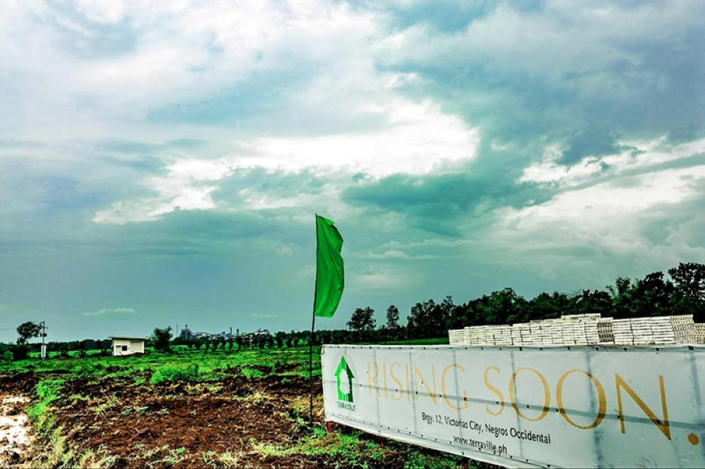 NEGROS OCCIDENTAL. Groundbreaking ceremonies were held on July 27 for Terraville Phase I-B in Barangay 12, Victorias City. (Contributed Photo)
