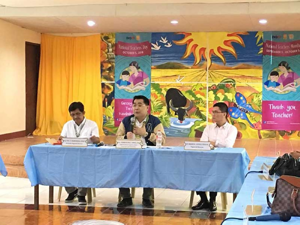 DepEd to public: Celebrate teachers' month like Christmas