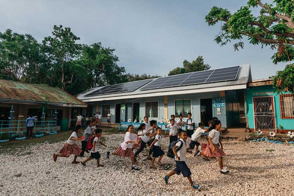 Renewable energy empowers students, teachers in island