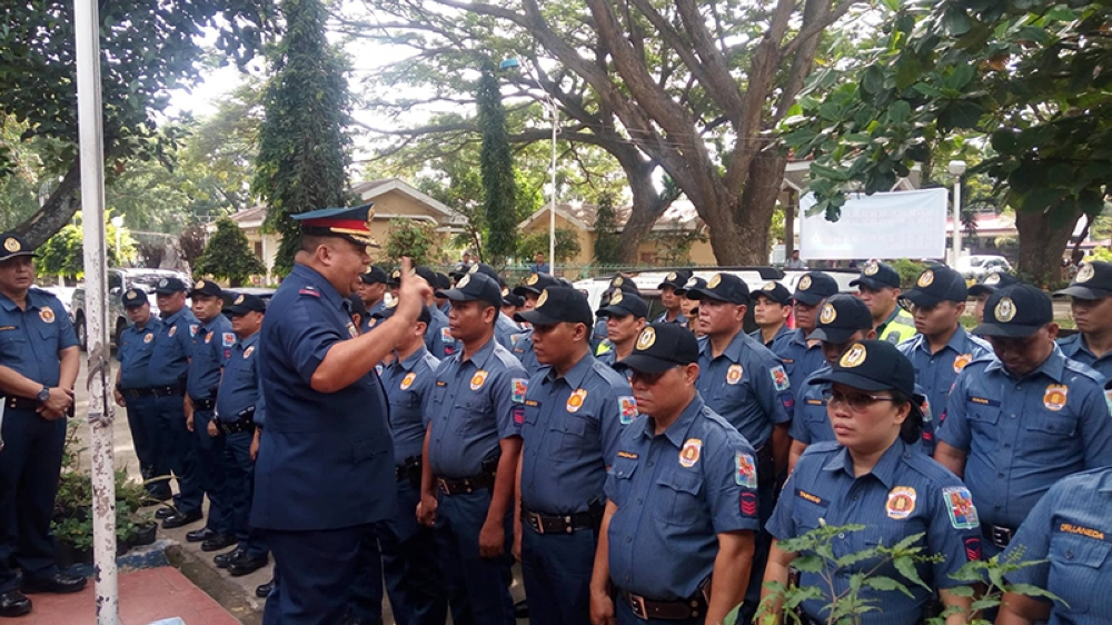 Police Regional Office (PRO) 7 director Debold Sinas announced that all 69 police officers assigned at the Talisay City Police Station have been relieved from their post starting Sunday, September 2. (SunStar Photo)