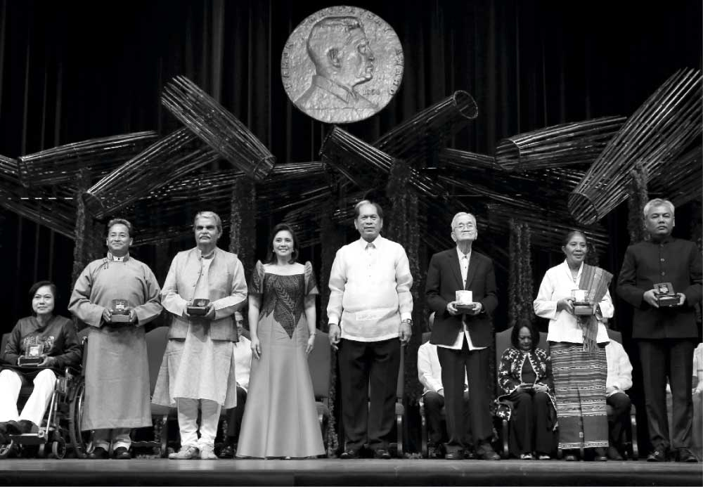 REINFORCEMENT. Serve the people. Learn from the past. These timeless lessons inspire those following the Ramon Magsaysay Awards and the Ramon Aboitiz Foundation, Inc. (Rafi) Triennial Awards. (AP Foto)