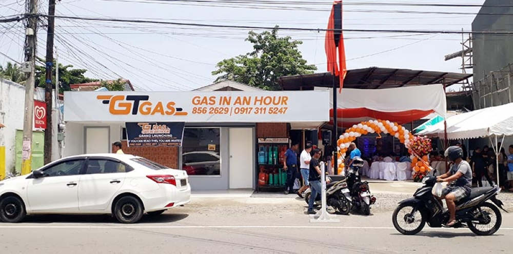 GT Gas: 1-hour delivery service - SUNSTAR