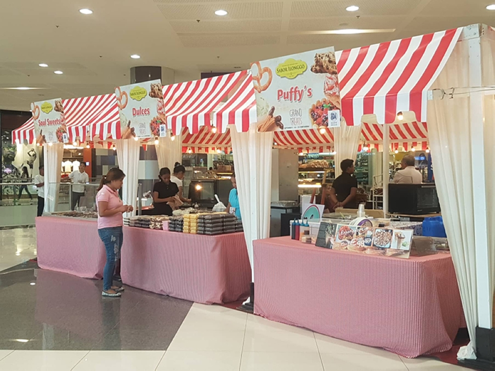 This bazaar of sweet and soulful treats at SM City Bacolod is just one of the many attractions at the mall to celebrate Grandparents' Day. Check out what else is in store for lolo and lola this weekend. (Contributed Photo)