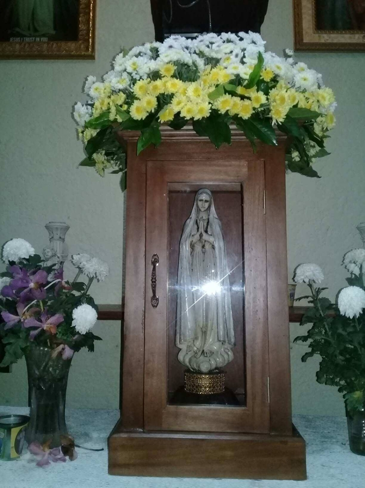 The miraculous image of Our Lady of Fatima (Carla Cañet)