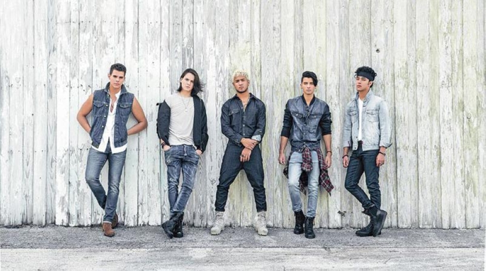 latin american boy band cnco live in sm city cebu sunstar