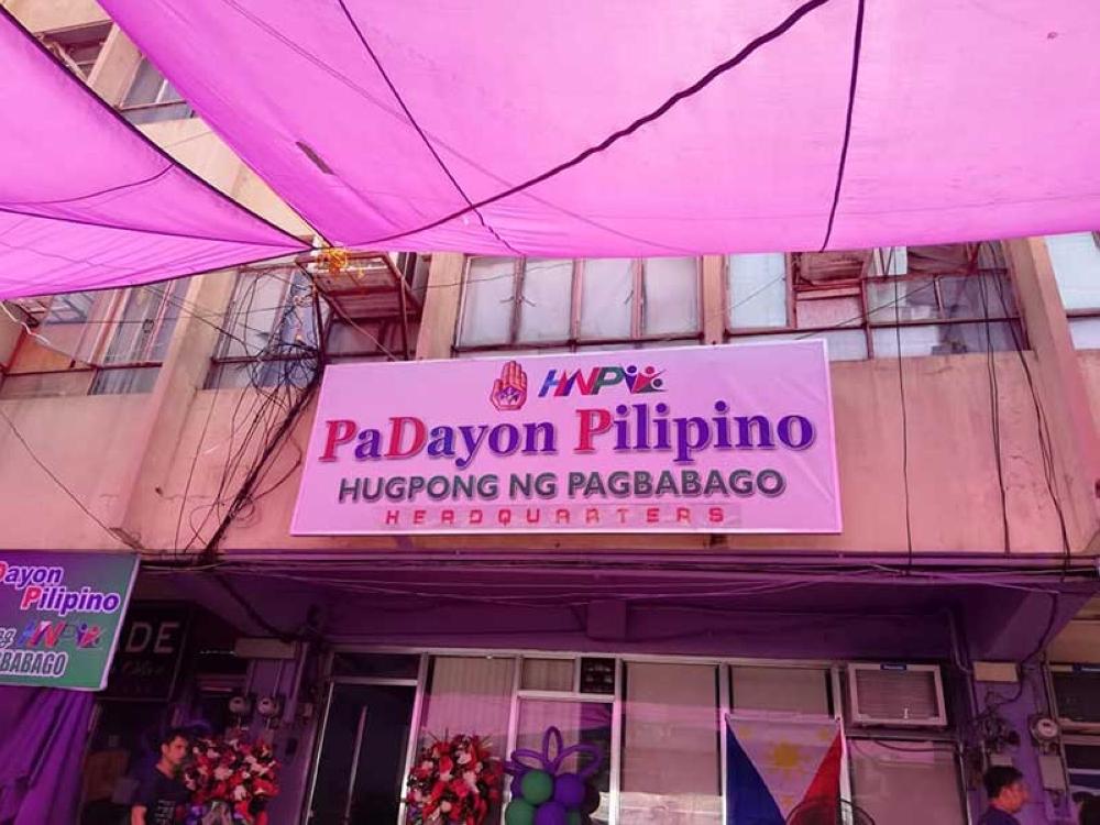 CAGAYAN DE ORO. Padayon Pilipino shows force during the blessing of Padayon Pilipino-Hugpong ng Pagbabago Headquarters at Pelaez Sports Center, this city. (SunStar CDO)