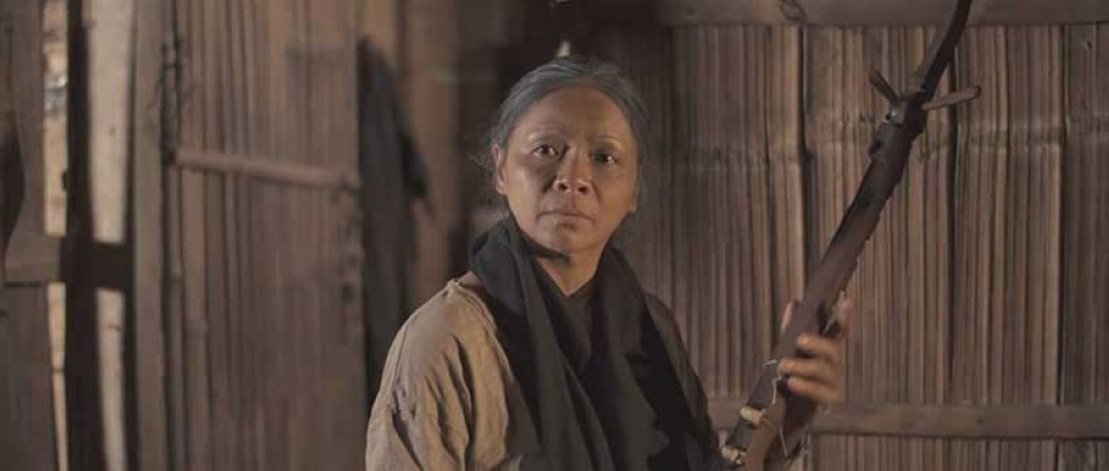 CAGAYAN DE ORO. Lumad musician Bayang Barrios takes on a role that reflects her heritage in the film. (Contributed photo)