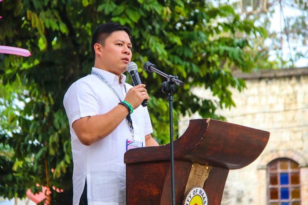 LEYTE. Maasin City, Southern Leyte Mayor Nacional Mercado. (Photo from LGU Maasin City Facebook page)