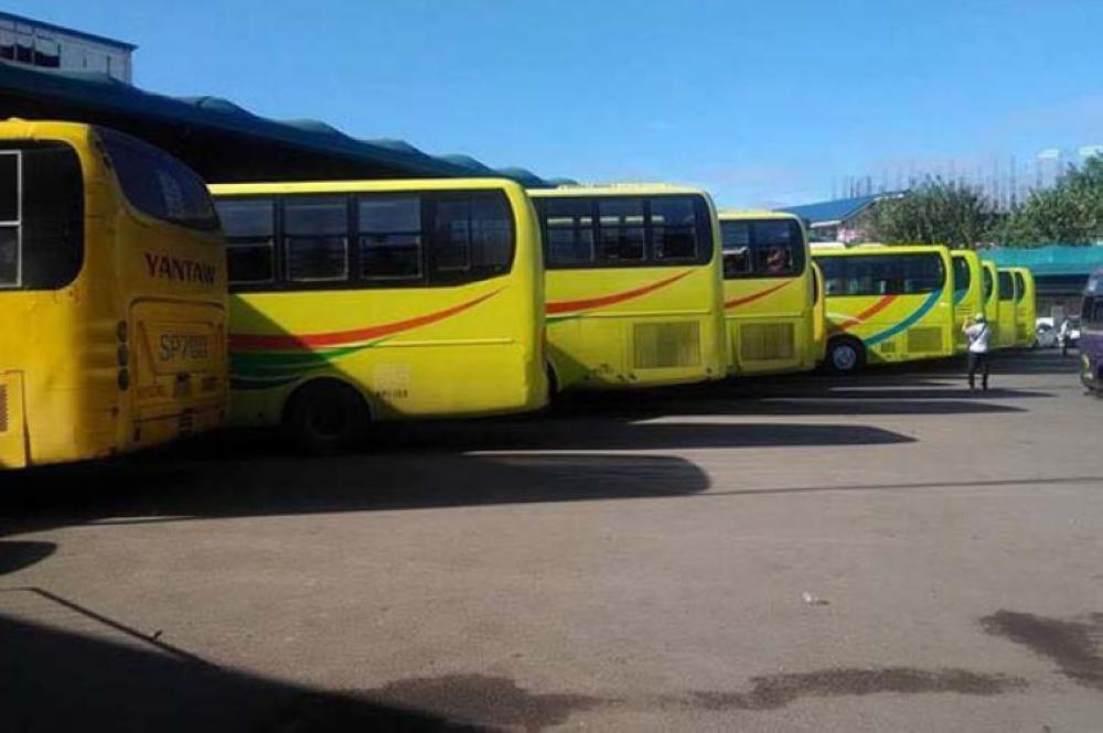Umento. Sugod karong adlawa mangolekta og umento nga P5 ang Ceres bus sa ilang mga pasahero nga paingon sa habagatang bahin sa lalawigan sa Sugbo. (SunStar File Foto)