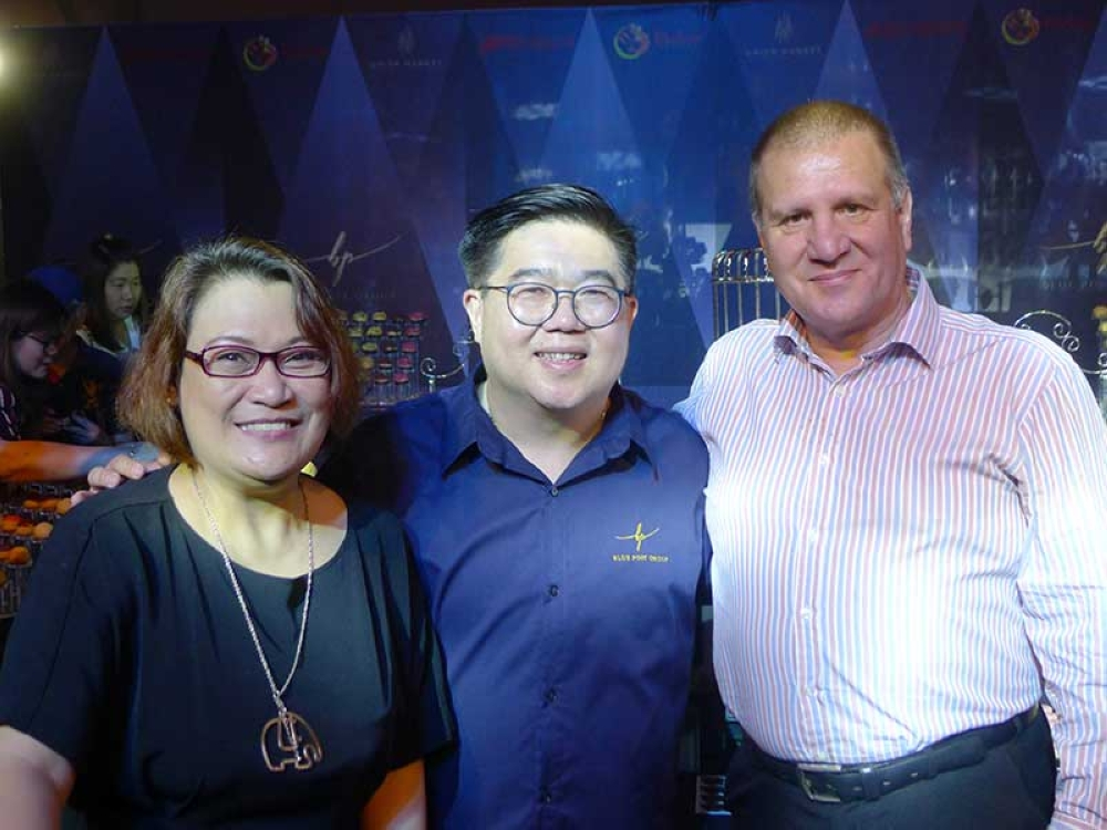 Katrina Villafranca, Anthony Ang and Stephen Warren. (Contributed photo)