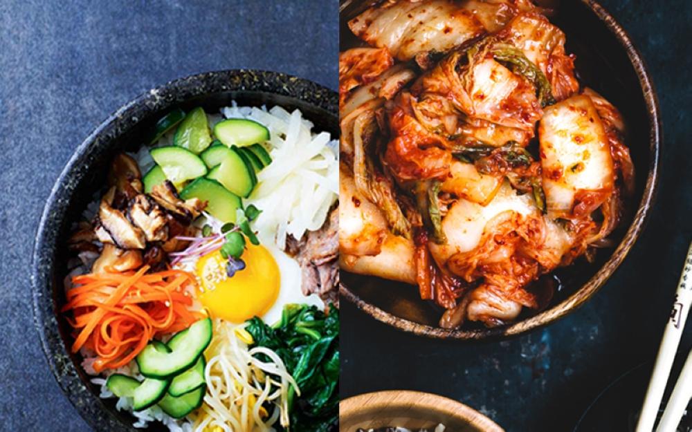 Bibimbap and Kimchi