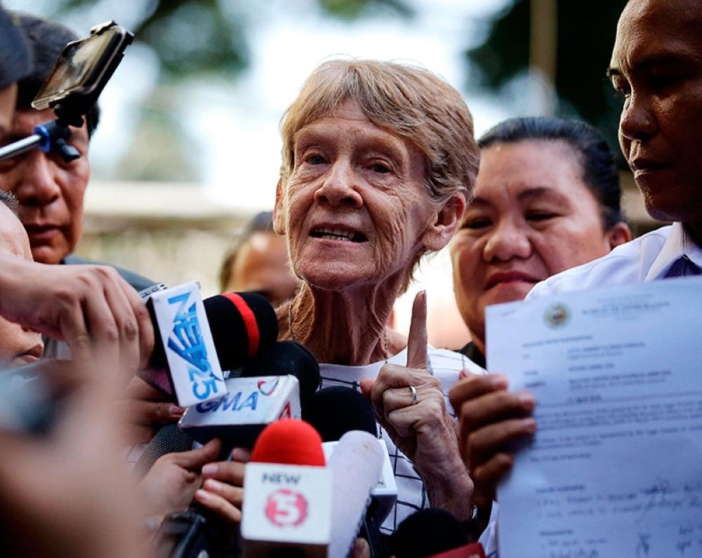 Australian missionary Sister Patricia Fox. (AP file photo)