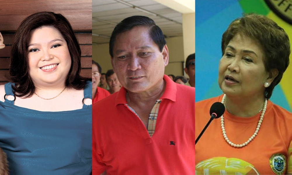 CEBU. (From left) Representative Aileen Radaza, former mayor and congressman Arturo Radaza, and Lapu-Lapu City Mayor Paz Radaza. (SunStar File)