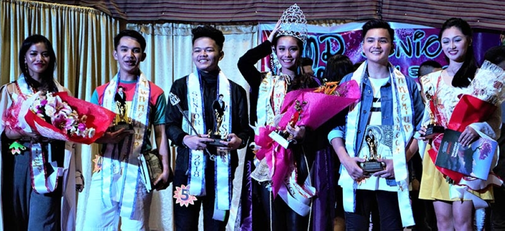 Winners of Mr. and Ms. BCNHS-SHS 2018. (Contributed photo)