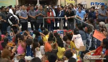 Screenshot from RTVM Malacanang video